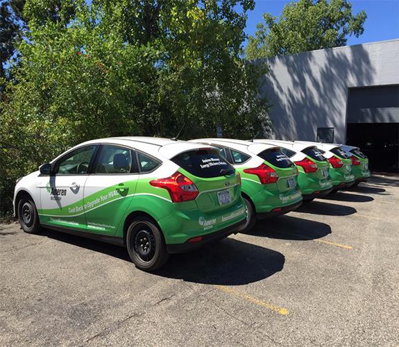 Car Wraps and Vehicle Wraps in Ann Arbor, Canton MI, Plymouth MI, Troy MI