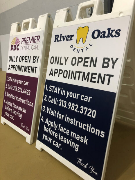 Signs in Farmington Hills, Detroit, Canton, MI, Royal Oak, Troy, MI